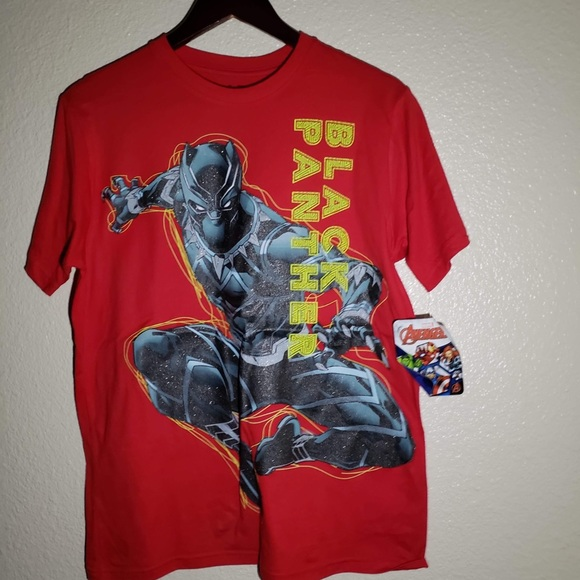 f94ca7dee Marvel Shirts & Tops | Avengers Black Panther Big And Little Boys T ...